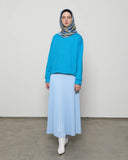 Crop Top Turkish Blue