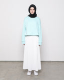 Elastic Sweater Mint