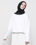 Elastic Sweater White