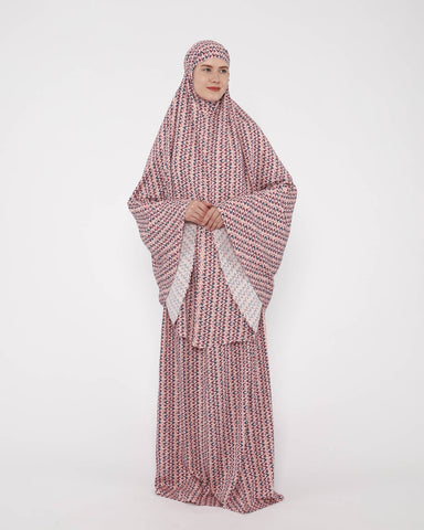 Mukena Daily Comfort Dusty Pink