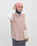 Sleeveless Shirt Dusty Pink