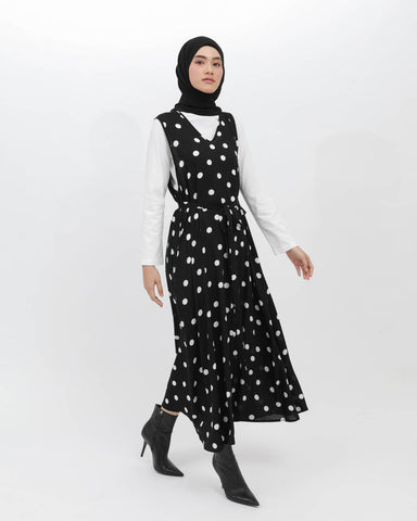 Flowy Dress Polkadot