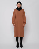 Sweater Dress Brown