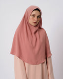 Saba Khimar Medium Peach