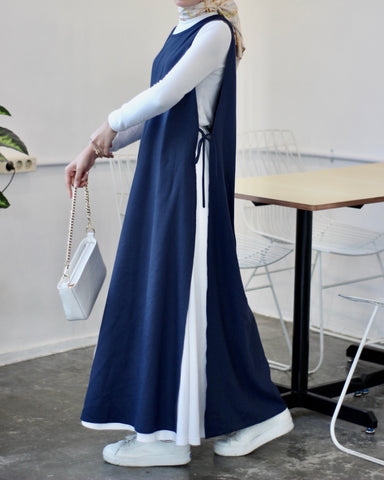 Apron Dress Navy