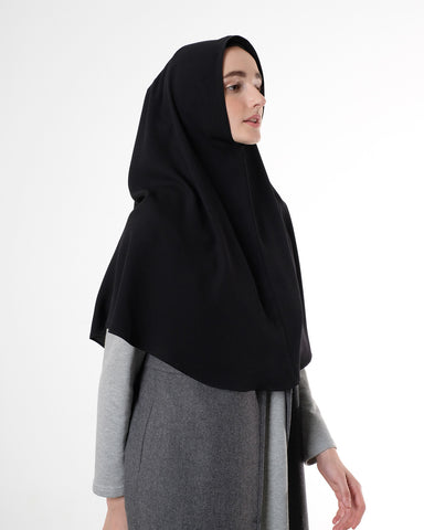 Saba Khimar Medium Black