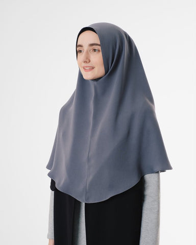 Saba Khimar Medium Grey