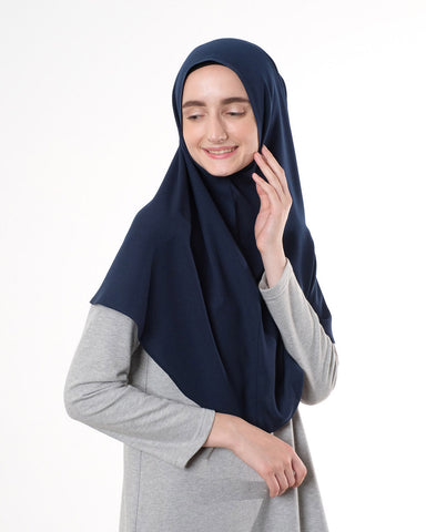 Saba Khimar Medium Navy