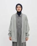 Terry Cardigan Grey