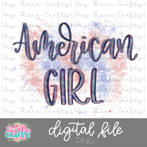American Girl | PNG File