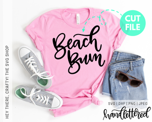 Beach Bum | SVG, PNG, DXF, JPEG