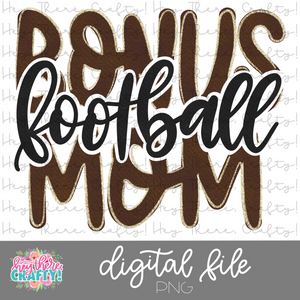 Football Bonus Mom | PNG File