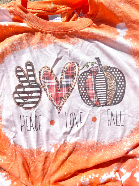 Peace, Love, Fall T-Shirt