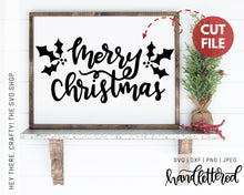 Load image into Gallery viewer, Merry Christmas | SVG, PNG, DXF, JPEG