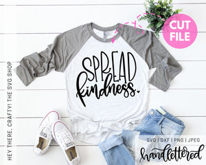 Spread Kindness | SVG, PNG, DXF, JPEG