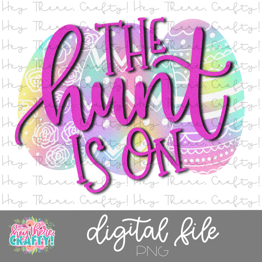 The Hunt is On | PNG File