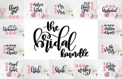 The Bridal Bundle | SVG, PNG, JPEG