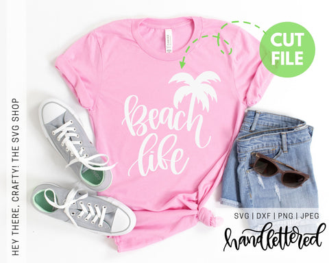 Beach Life | SVG, PNG, DXF, JPEG