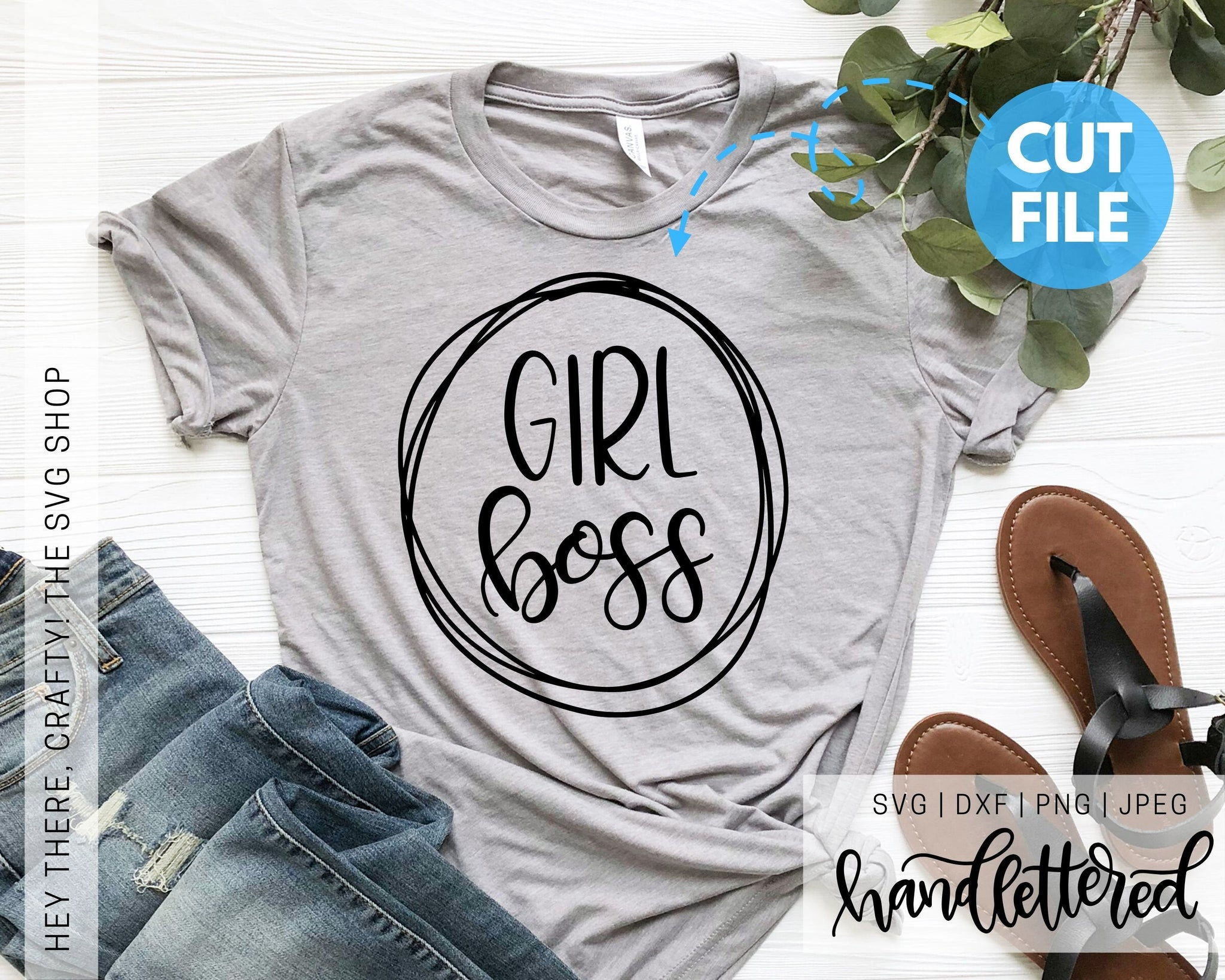Girl Boss | SVG, PNG, DXF, JPEG