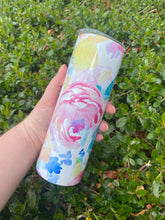 Load image into Gallery viewer, Floral | 20oz Tumbler with Straw