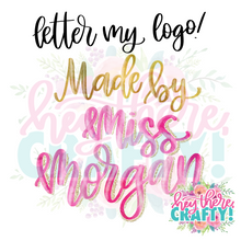 Load image into Gallery viewer, Letter my Logo!
