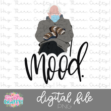 Load image into Gallery viewer, Bernie - Mood | PNG File