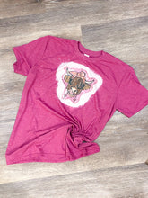 Load image into Gallery viewer, Valentine Highland Cow T-Shirt