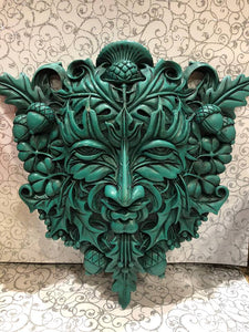 Large Greenman Plaque