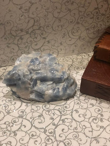 Blue Calcite Pieces Available