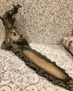 Tree Man Long Branch Incense Holder
