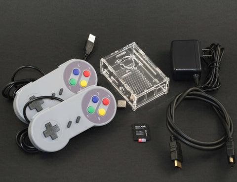 Bring Your Own Pi Gaming Kit