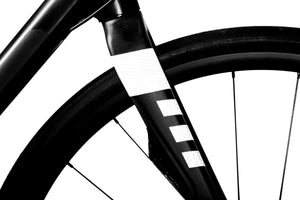 Bicycle Frame Reflective Decals