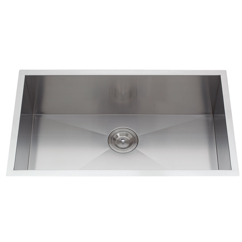 Stainless Steel Handmade X-Deep Single-Basin Sink