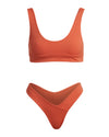 THE JOSEPHINE TOP - BURNT ORANGE
