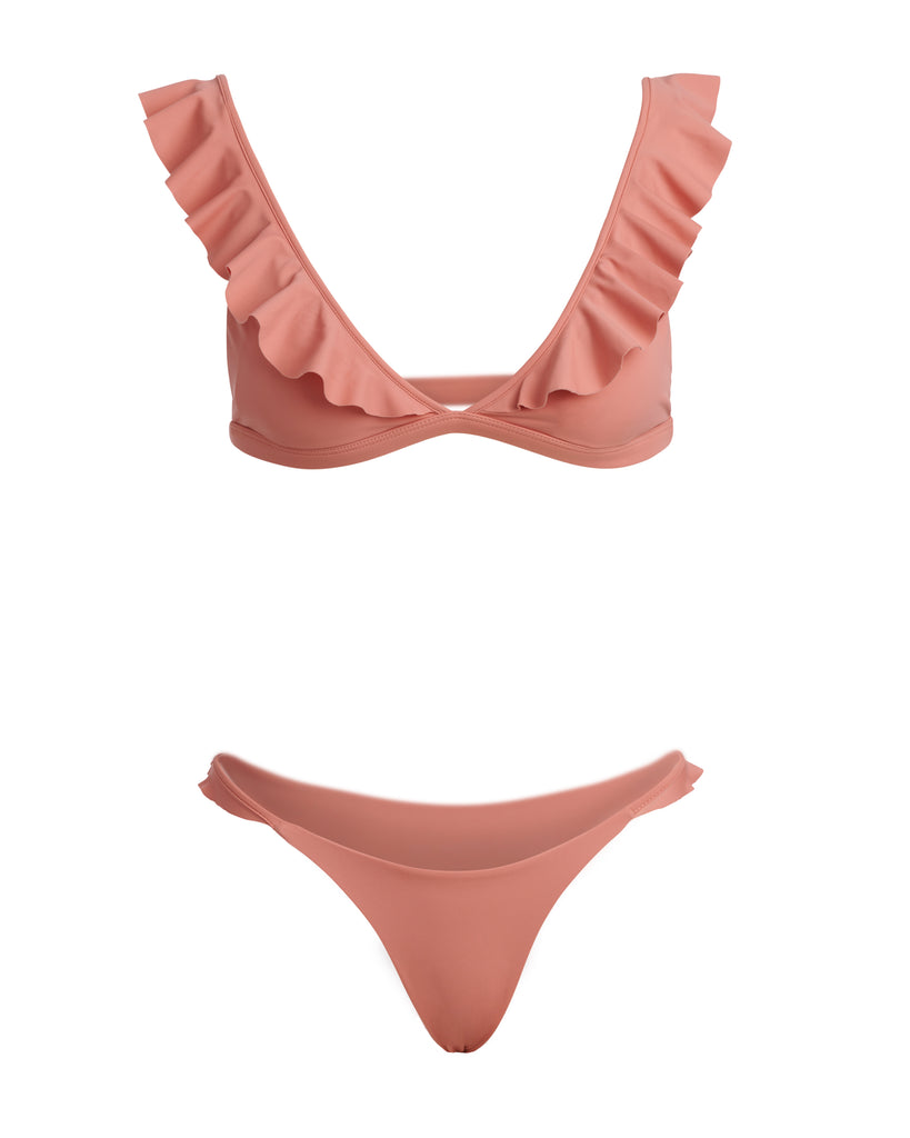 THE TIYANA TOP // PINK BLUSH