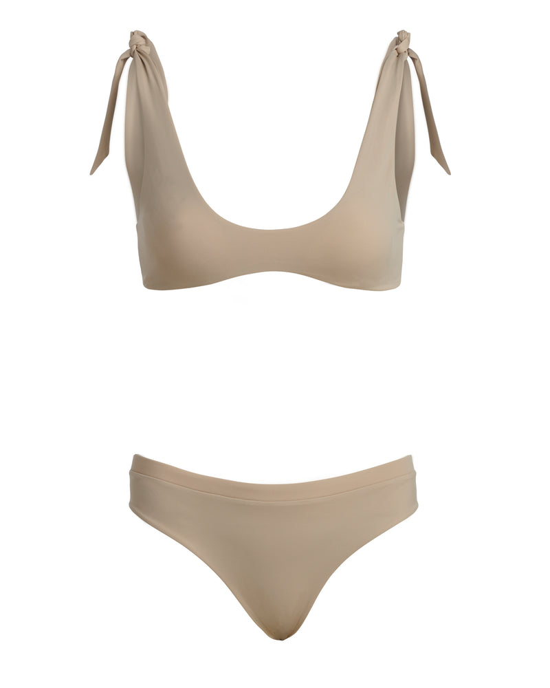 THE NUNA TOP // SAND