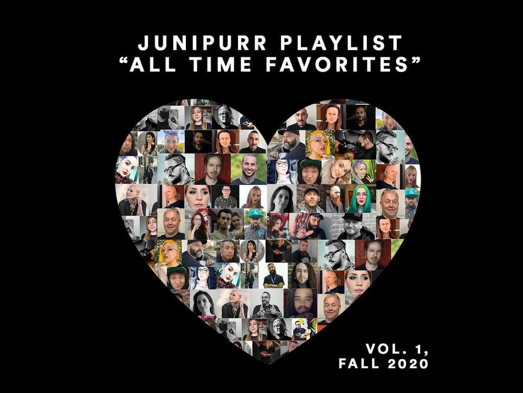 "The first Junipurr Playlist - ""All Time Favorites"""