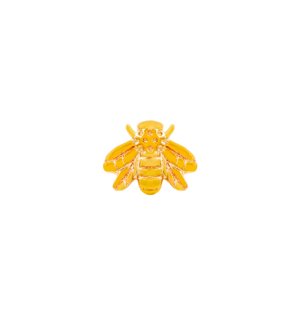 Gold Bee in Yellow Gold