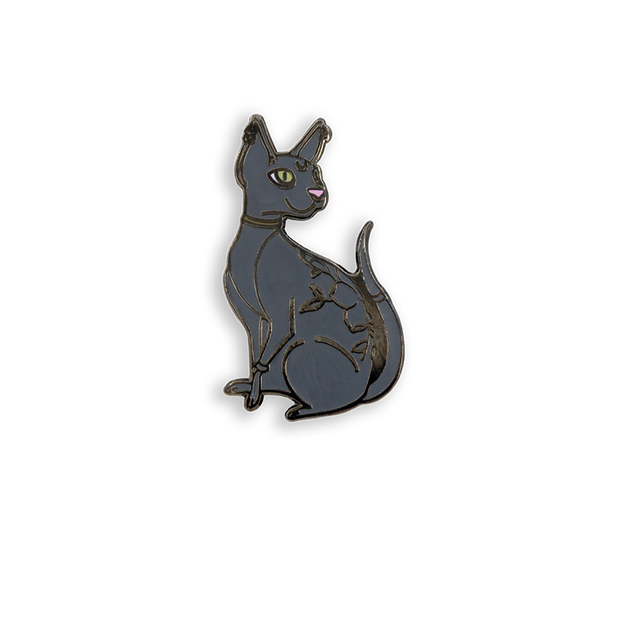Cat Body Pin