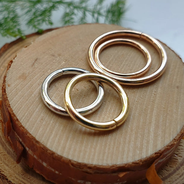 Plain Gold Seam Ring