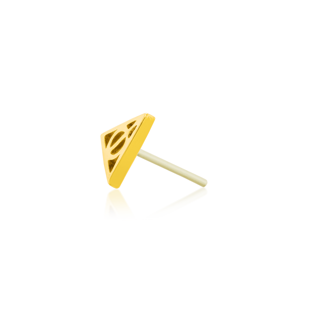 Gold Deathly Hallows - Junipurr Jewelry