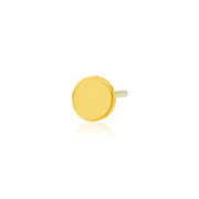 Gold Disk - Junipurr Jewelry