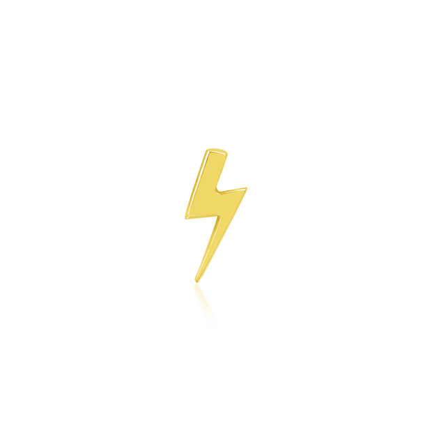 Gold Lightning Bolt