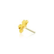 Gold Puzzle Piece - Junipurr Jewelry