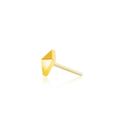 Gold Pyramid - Junipurr Jewelry