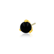Prong-Set Ball with Black Onyx