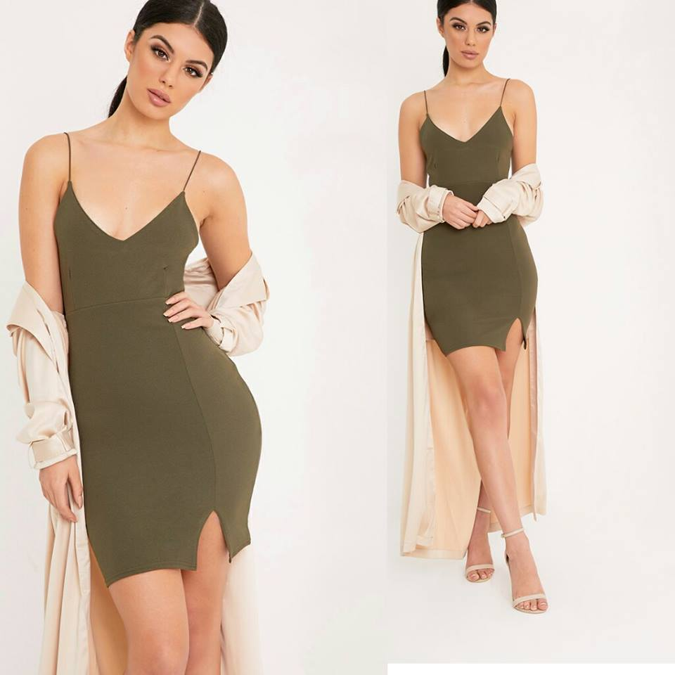Plunge Bodycon