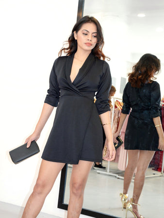 Business As Usual Blazer Dress
