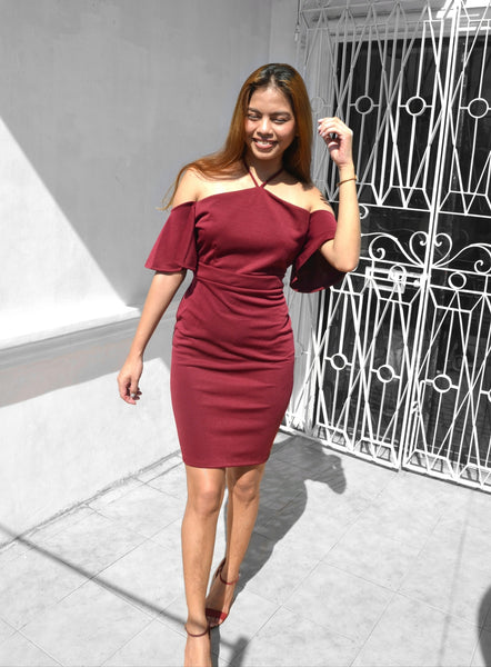 Frill Seeker Mini Dress