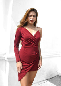 Hennessy Bodycon Wrap Dress